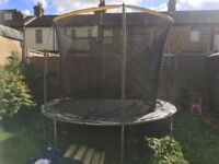 GOOD CONDITION 10 FT TRAMPOLINE