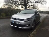 2014 63 PLATE VW POLO BLUEMOTION TDI DIESEL 1.2 ALLOYS CAT D registered SMALL DAMAGE NOW REPAIRED