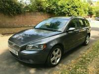 VOLVO V50 SE D 2005 6 SPEED ESTATE DRIVES PERFECT TEL 07534349013