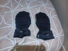 ixs waterproof textile gloves