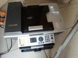 Laxmark copier, Printer and scanner in very good condition