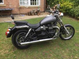 Triumph speed master 865 only 3100 miles part ex motorcycle
