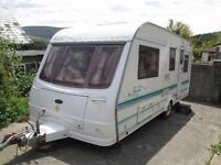 Coachman Pastiche 2001 5 berth with end shut off bed room