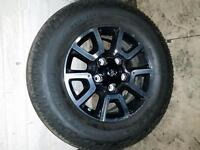 Trd off road 18 inch rims and tires