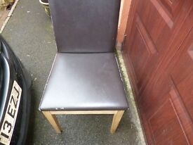 DINING CHAIRS-JOHN LEWIS-Set of four