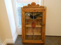 Cabinet - antique looking, kitchen, utility, hall or bathroom very unusual