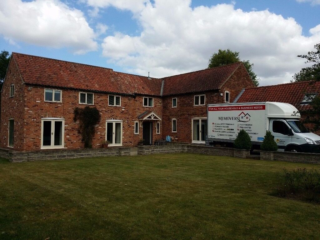 Professional house removals / man and van / single item delivery /students move with MJ MOVERS Ltd