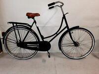 f 🚲🚲Black OMA Ladies DUTCH city Bike single Speed M Size Warranty Lightweight 🚲🚲