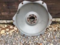 Grey Fergie rear wheel