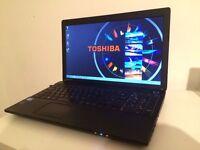 """TOSHIBA SATELLITE PRO L50/8GB RAM/500GB HDD/INTEL CORE i3 2.4GHZ/WINDOWS 7/15.6"""" HD SCREEN"""
