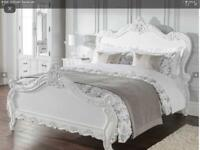 Estelle, Antique French style bed