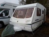 Abbey Freestyle 500 5 Berth Caravan (2004)
