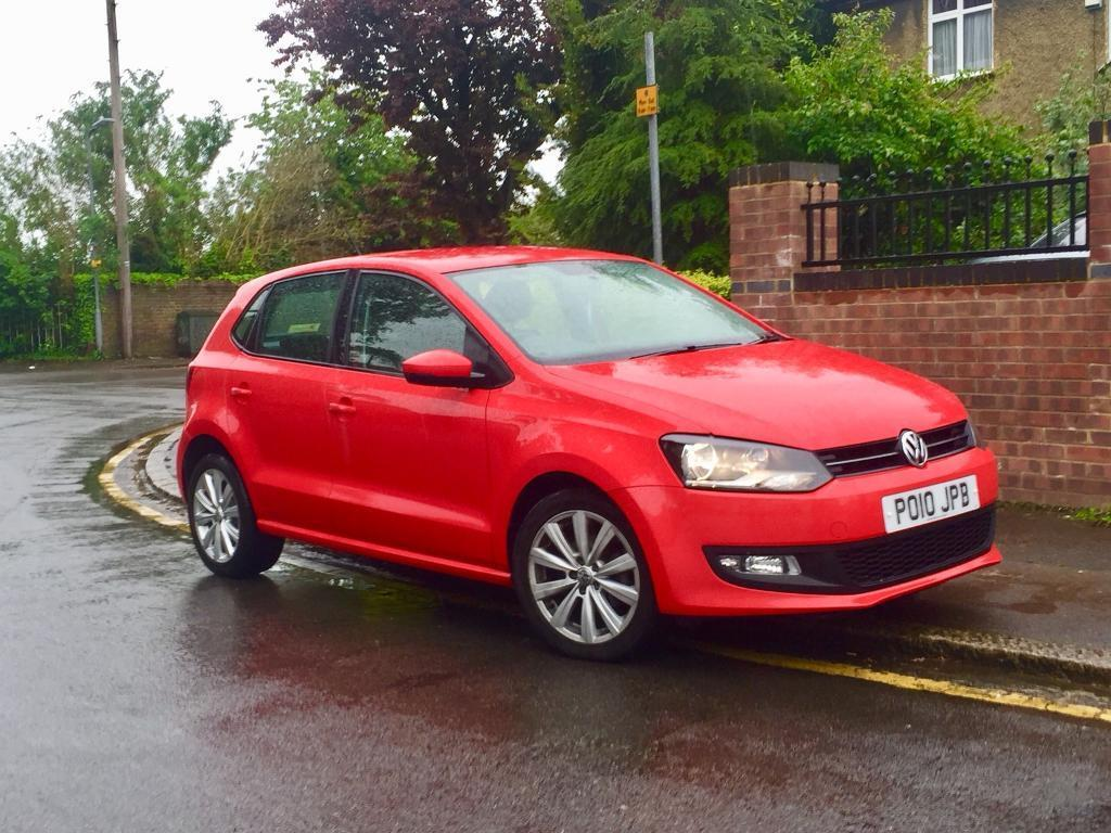 2010 Vw Volkswagen polo 1.6TDI, Hpi Clear, Full Service History,86000 Miles