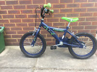 Childrens Ben 10 branded bike, complete with removable stabilisers, FOR SALE