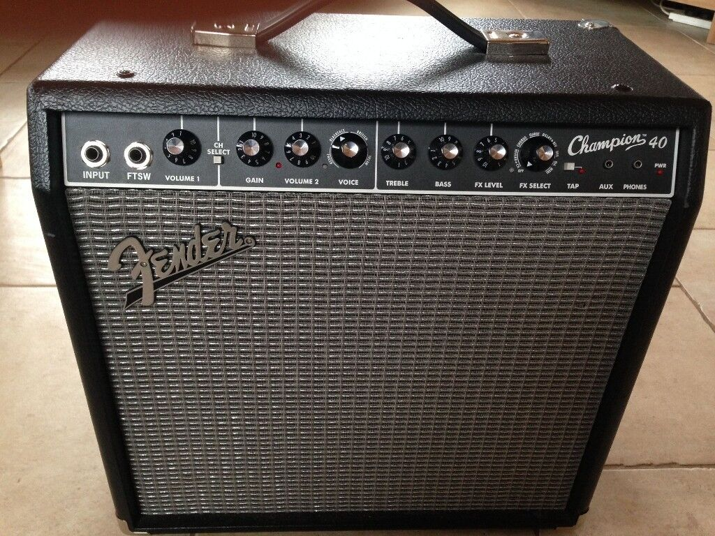 Fender Champion 40 40 Watt Guitar Combo With Effects And