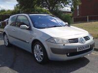 Renault Megane 2.0 VVT Dynamique 3dr£799 p/x welcome 1 OWNER,FULL MOT,LOVELY CAR