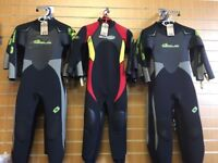 Sola Winter & Summer Wetsuits
