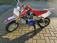 Honda crf 50 pitbike not demon stomp klx drz