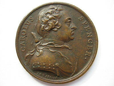 1742 Charles Spencer Duke of Marlborough medal 55mm by Dassier Eimer 568