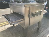 "CATERING COMMERCIAL EQUIPMENT LINCOLN GAS 32"" PIZZA OVEN FAST FOOD COMMERCIAL CUISINE CAFE SHOP BBQ"