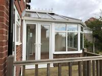 3.7m x 3.5m conservatory