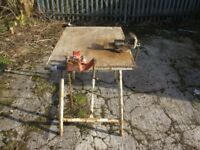 Ridig Pipe Fitters Bench