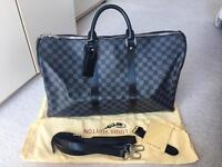 Stylish LV keepall 50 travel bag! Louis vuitton