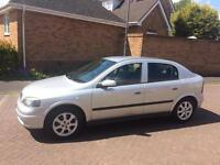 2003 VAUXHALL ASTRA 1.6 ACTIVE , LOW MILES, EXCELLENT CONDITION