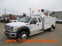 2015 Ford F-550 XLT 4X4, COMPLETELY NEW RIG UP!!!