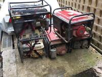 5 generators £100 for the lot