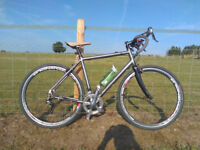 Van Nicholas Amazon titanium 700c Road/cyclocross bike