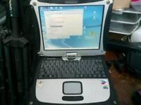 Panasonic toughbook CF18 WinXP 160gb hdd