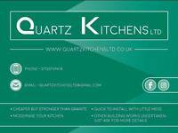 Kitchen Fitter: Kitchen refit & Granite Effect Quartz Kitchen Worktop Installation & Kitchen Fitter