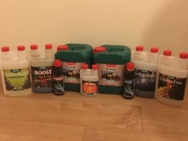 Canna complete nutrient kit plus much more in one lot