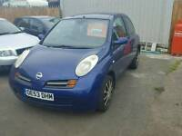 2004 micra priced to clear