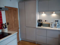 Fitted kitchen unit - Vauth Sagel gloss finish kitchen with Blum fittings - £250