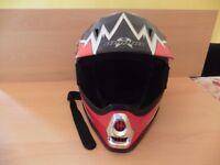 Demon Off Road Junior Motocross Helmet 050137/P-1871