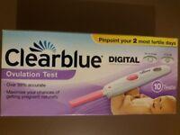 Clear Blue Digital Ovulation Test