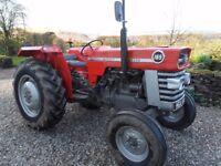 Massey Ferguson 165 Tractor.