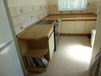 Used kitchen units .