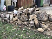 Free rubble hardcore bricks