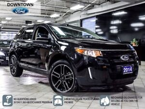 2014 Ford Edge SEL LEATHER PANORAMIC NAVI B-UP CAMERA REM START