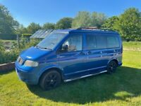 Volkswagen T5 Campervan, 2004, Electric Blue, Automatic, 2460 (cc)