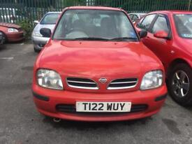 NISSAN MICRA 1.0 PROFILE LONG MOT STARTS AND DRIVES GREAT 1999