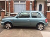 Nissan Micra - 2002 - low mileage - MOT to Feb 19 - perfect condition