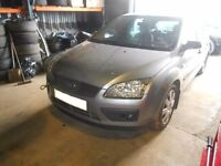 2005 Ford Focus 1.6 TDCi Diesel Hatchback BREAKING FOR SPARES PARTS in Silver