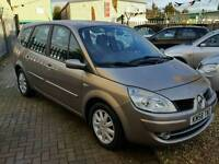 2008 58 RENAULT GRAND SCENIC 1.5 DCI DYNAMIQUE MANUAL DIESEL 7 SEATS GREAT VALUE