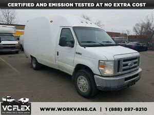 2008 Ford E-350 12Ft Bubble Van 5.4L V8 + Back Up Cam