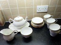 Ascot Bone China tea set