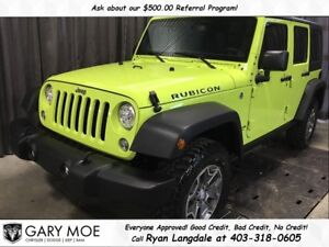2017 Jeep WRANGLER UNLIMITED Rubicon **DUAL TOPS/ LOADED**